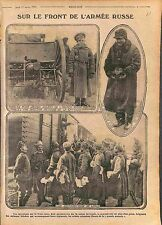Food supplie Soldier Imperial Russia Army Train Ravitaillement Railway WWI 1916