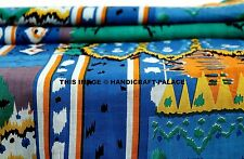 """Indian Abstract Printed 100% Cotton Fabric 44"""" Wide Crafting Dress By 10 Metre"""