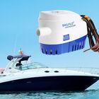 12V 1100GPH Marine Boat Automatic Bilge Pump RV Auto Submersible Water Pump photo