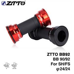 ZTTO BB92 MTB Bottom Bracket Fit Bottom Brackets for 24mm Crankset chainset