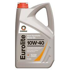 Comma EUROLITE 10w-40 Semi Synthetic Motor Oil 5l EUL5L