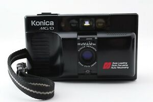 【Near Mint】Konica MG/D 35mm Film Point & Shoot Camera f3.5 Lens from japan #022