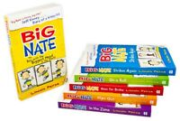 Big Nate Series 6 Books Children Collection Paperback Box Set By Lincoln Peirce