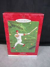 Mark McGwire ~ At the Ballpark ~ Hallmark Keepsake Ornament 2000 ~ Baseball