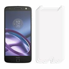 2 Clear LCD MOTOROLA MOTO Z Screen Protector Pellicola Risparmiatore per Cellulare