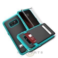 Samsung Note 8 Zizo Shockproof Case - Black/Blue Case Cover Shell Shie