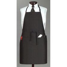 """Jrc Ritz Foodservice 3Pbiaelbk Jrc Ritz Full Bib Apron - 26""""Wx31""""L, Black"""