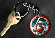 Pete Rose Keychain Key Chain Cincinnati Reds