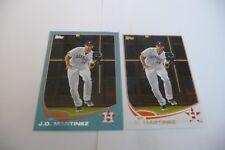 J. D., Martinez 2013 topps blue border & base card #377 mint.