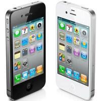 Apple iPhone 4 -  Black / White - 8GB 16GB 32GB - Unlocked - Smartphone