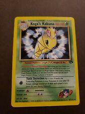 Koga's Kakuna 47/132 Gym Challenge - Uncommon Pokemon Card Near Mint