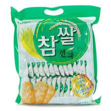 Korean Crispy Snack CROWN Glutinous Rice Snacks - 253g