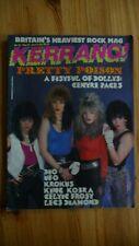 More details for kerrang no 121 rare heavy metal,rock mag 1986.dio,celtic frost,king kobra,krokus