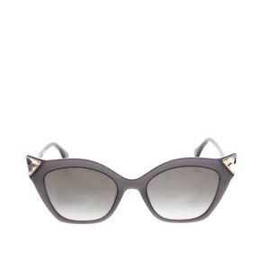 RRP €285 FENDI Cat Eye Sunglasses Gradient Lenses Triangle Rhinestones Corners