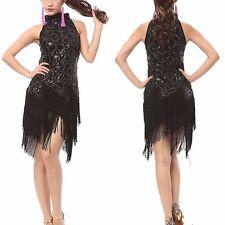 1920s Flapper Dress Clubwear Party Gatsby Sequin Tassel Plus Size Dress 3225