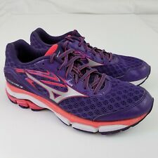 6fc6eec76d22 MIZUNO Wave Inspire 12 Women's Running Shoes Purple Pink Sneakers Size 8