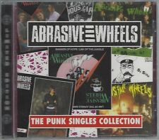 ABRASIVE WHEELS - THE PUNK SINGLES COLLECTION - (still sealed cd) - AHOY  CD 51