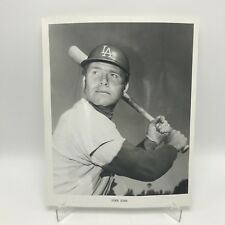 "DUKE SIMS - Los Angeles Dodgers Baseball - 8"" x 10"" Black & White Photograph"