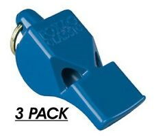 3 PACK = $4.49 per Fox 40 Classic Whistle (115dB-pealess) 'Safety&Sports' - BLUE