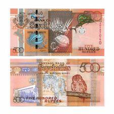 Seychelles Coco-de-Mer 500 Rupees 2005  Pick 41 Crisp Uncirculated