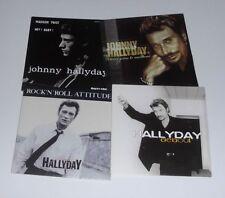 JOHNNY HALLYDAY . Lot de 8 CD singles / Vivre Pour Le Meilleur, Debout ++++