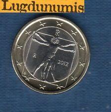 Italie 2012 1 Euro SUP SPL Pièce neuve de rouleau - Italia
