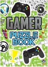 Gamer Fun Puzzle Book Party Bag Christmas Stocking Fillers Cross Word Search