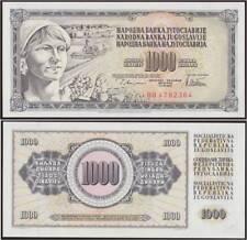 YUGOSLAVIA 1000 DINARA 12/8/1978 - SIGN 10 - FDS/UNC FIOR DI STAMPA