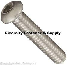 4-40x1 Stainless Steel Button Head Cap screw Coarse thread 100 pcs #4 x 1