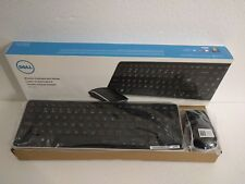 NEW  Dell KM714 Keyboard Mouse Combo 4DTDH3 French Canadian + RF Nano Receiver