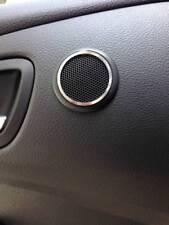 D Ford Focus MK3 Chrom Rahmen für Lautsprecher hinten oben  Edelstahl Focus MK 3