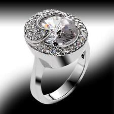 New Vero Vicenza Glamour Wrapped Cocktail Ring - Size 8.5