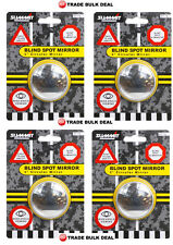 "4x RV16  SUMMIT BLIND SPOT MIRROR ROUND ADHESIVE  2"" INCH EASY FIT WIDE ANGLE"