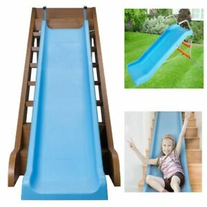 2 in 1 Kids Indoor Outdoor Garden  Slide Toddler Climbing Stair Slide Playground
