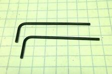 "TWO 0.035"" Hex Keys /  ALLOY STEEL - SHORT Arm Allen Wrenches - INCH/SAE  USA"