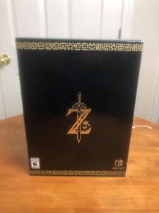 Legend of Zelda: Breath of the Wild Master Edition - Nintendo Switch (SEALED)
