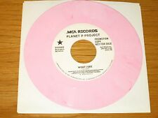 "PROMO PINK WAX 80s ROCK 45 RPM - PLANET P PROJECT - MCA 52515 - ""WHAT I SEE"""