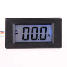 200A DC Digital display Amp panel meter LED LCD Blue Ammeter 12V