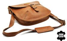 Genuine leather Unisex Mens Cross Shoulder Strap Messange Sling Bag LondonWear