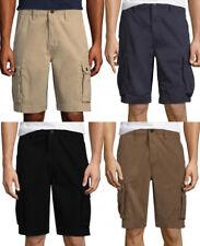 ARIZONA CARGO SHORTS Classic-Fit Flat-Front Cotton Chino Men Cargo Short (#sh4B)