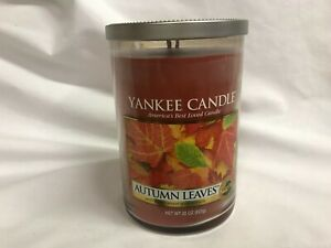 Yankee Candle AUTUMN LEAVES 22 oz Two Wick Tumbler Jar Candle