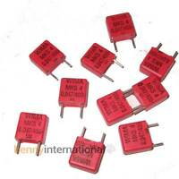 10x 47nF 400V WIMA CAPACITORS Metalized Polyester Film MKS4 0.047uF