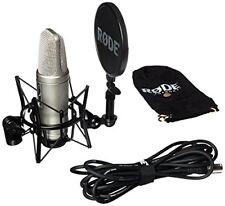 Rode NT 2-a Studio Microfono Bundle Großmebran Condensatore mit