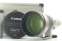 【OPT MINT】 Canon EF 600mm f/4 L USM Lens w/ Original Case Hood From JAPAN