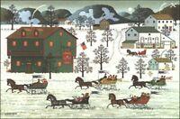 "Charles Wysocki "" Country Race"" ARTIST'S PROOF #899/1000 W/CERT"