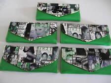 Magazine Clutch Trendy Ladies Envelope Purse Handbag Color Vogue Wallet Green