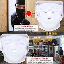 Wireless Infrared Sensor MP3 Welcome Guest Door bell  Alarm Motion Sensor J7R9