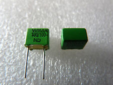 10 condensateurs Wima FKP2 100pF 100V 5%