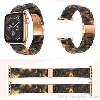 Tortoise shell Lines Watch Band Strap for Apple iWatch Series 4 3 2 1 38/40/42mm