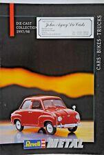 Original 24 Pages 1997 / 98 REVELL Metal Catalogue Cars, Bikes & Trucks Models